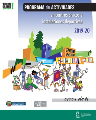 Calendario Escolar 2020 18 Aragon.Sorteo Cursos Centros Civicos 2019 2020 En Vitoria Gasteiz