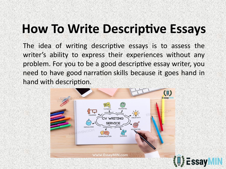 Write A Descriptive Essay