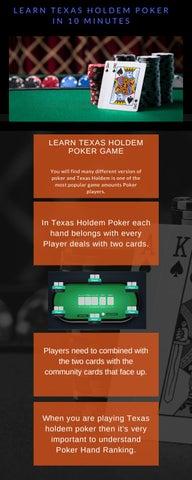 Highest ranking poker hands