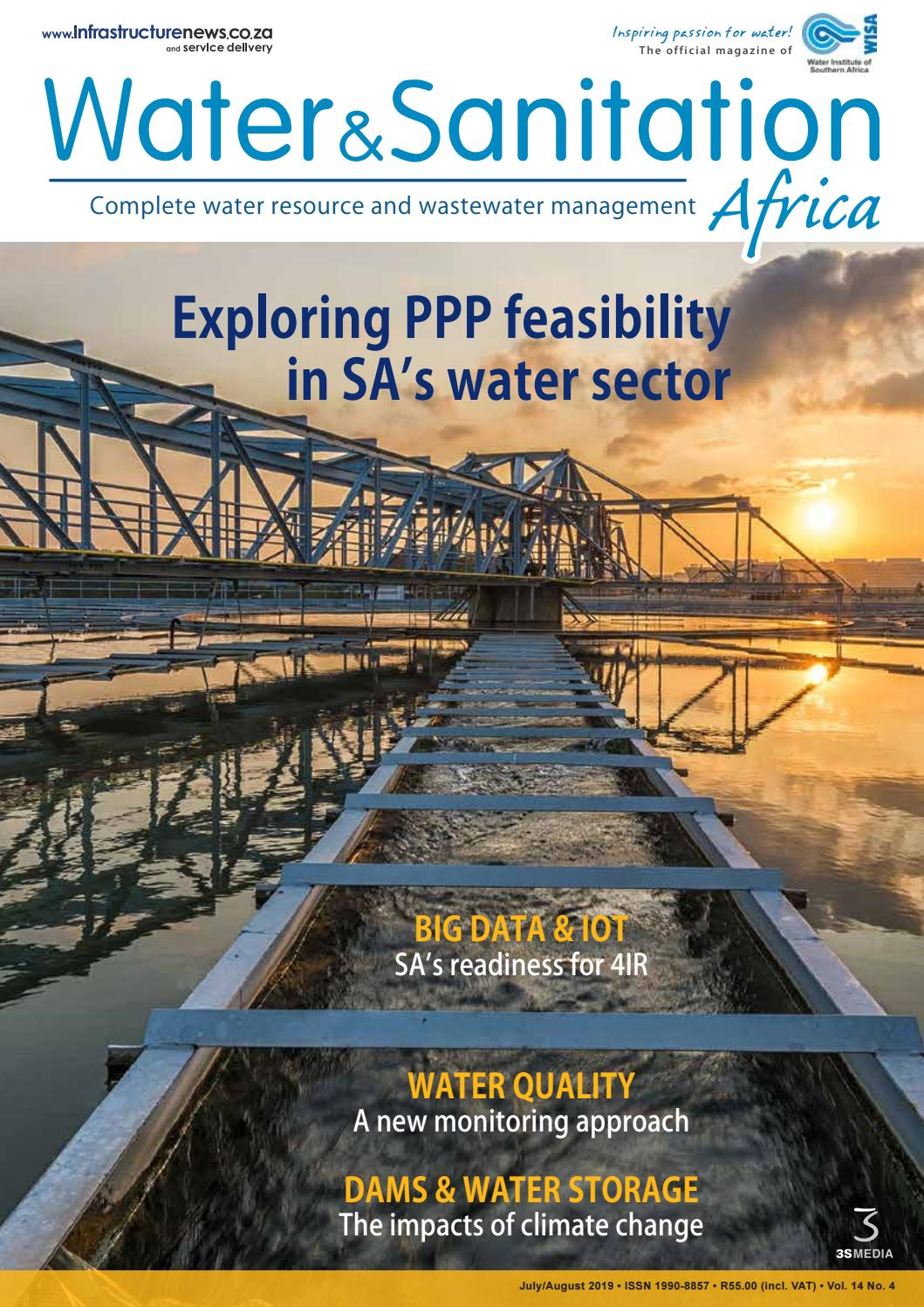 Water&Sanitation Africa July/August 2019 by 3S Media - issuu
