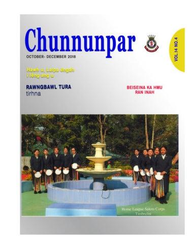 Chunnunpar October-December 2018 by SalvationArmyIET - issuu