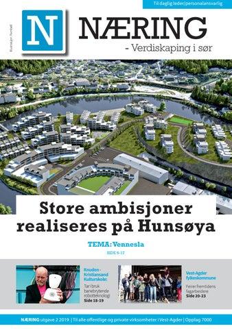 df9bb3e3f NÆRING Vest-Agder nr 2 2019 by Tvende Media AS - issuu