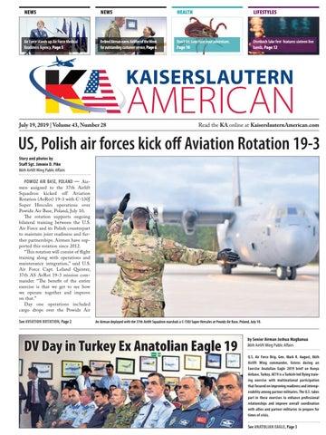 Kaiserslautern American, July 19, 2019 by AdvantiPro GmbH