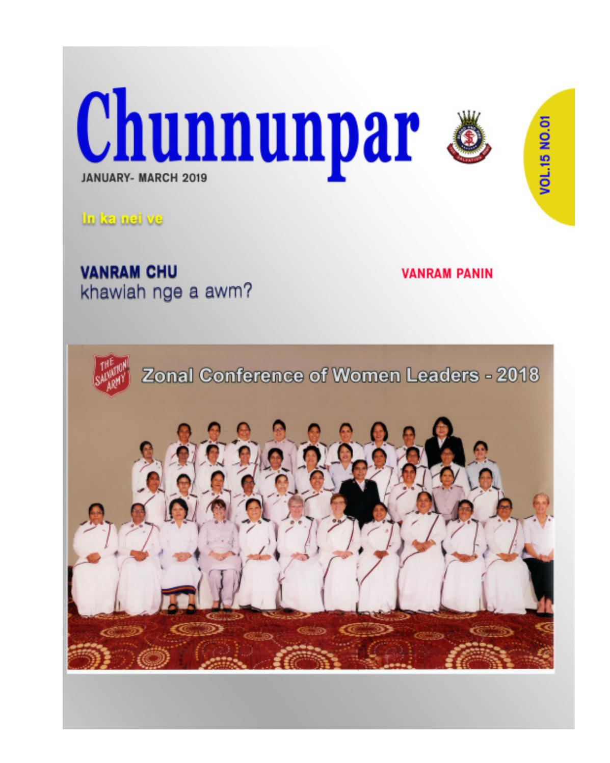 Chunnunpar January March 2019 By Salvationarmyiet Issuu He combs his hair and goes to meet his friend anna (13). chunnunpar january march 2019 by