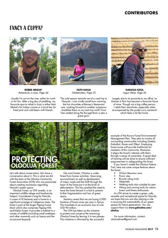Page 13 of Protecting Oloolua Forest