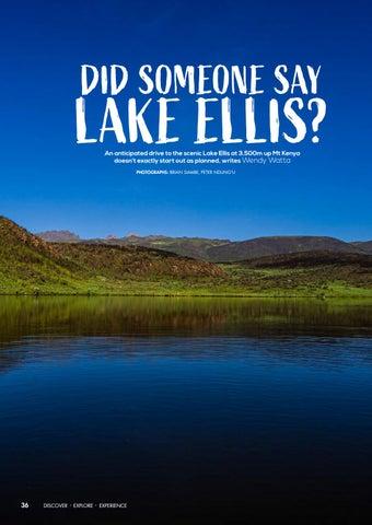 Page 38 of Did Someone Say Lake Ellis?