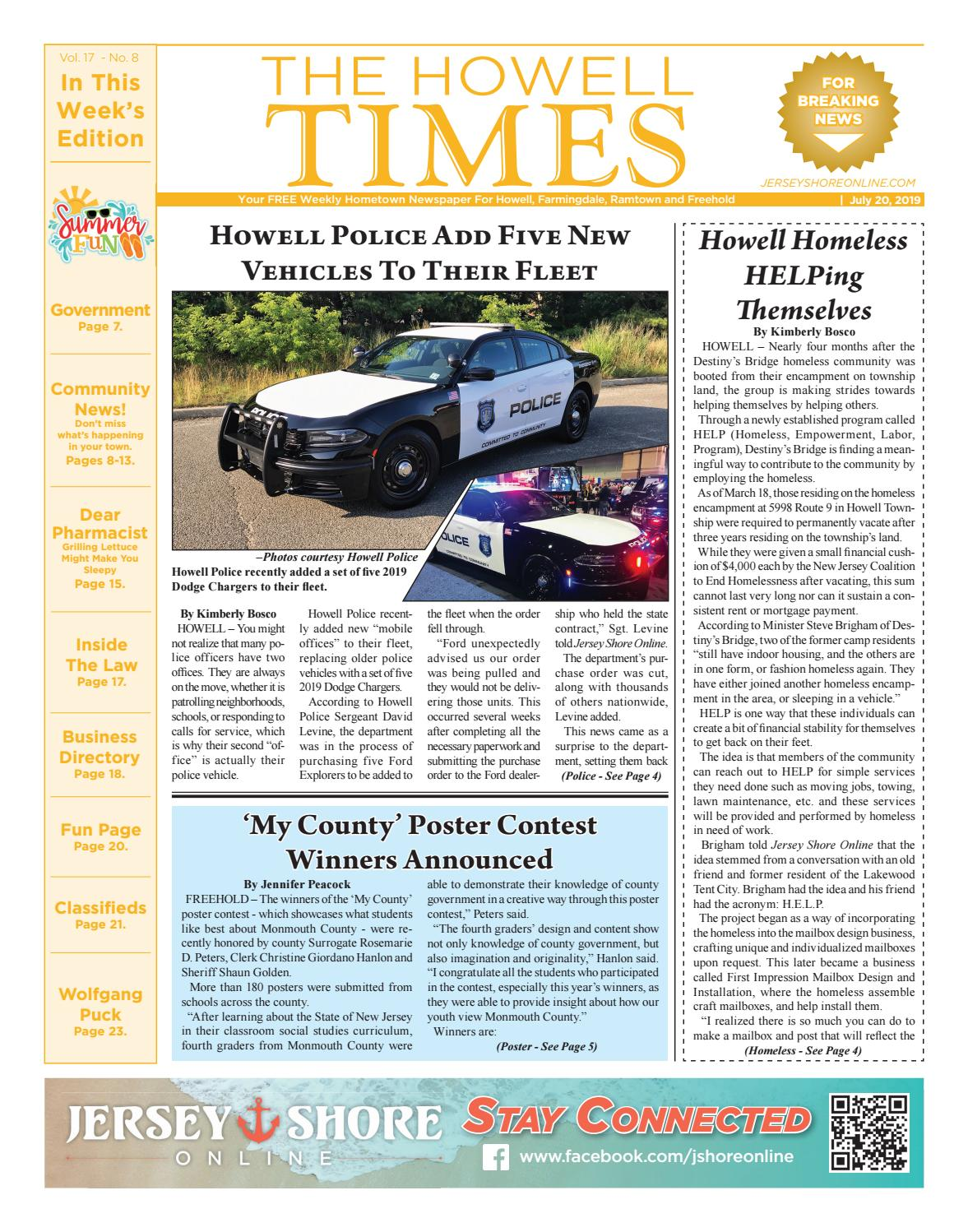 2019-07-20 - The Howell Times by Micromedia Publications