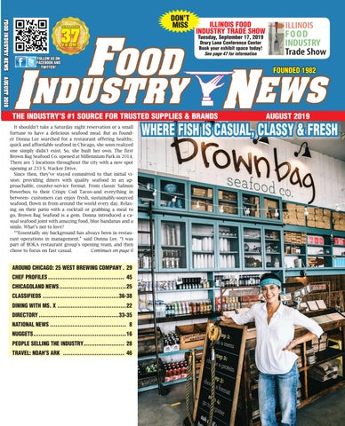 Food Industry News AUGUST 2019 Edition by FoodIndustryNews
