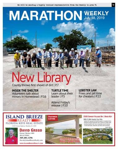 Marathon Weekly – 7/18/19 by Keys Weekly Newspapers - issuu