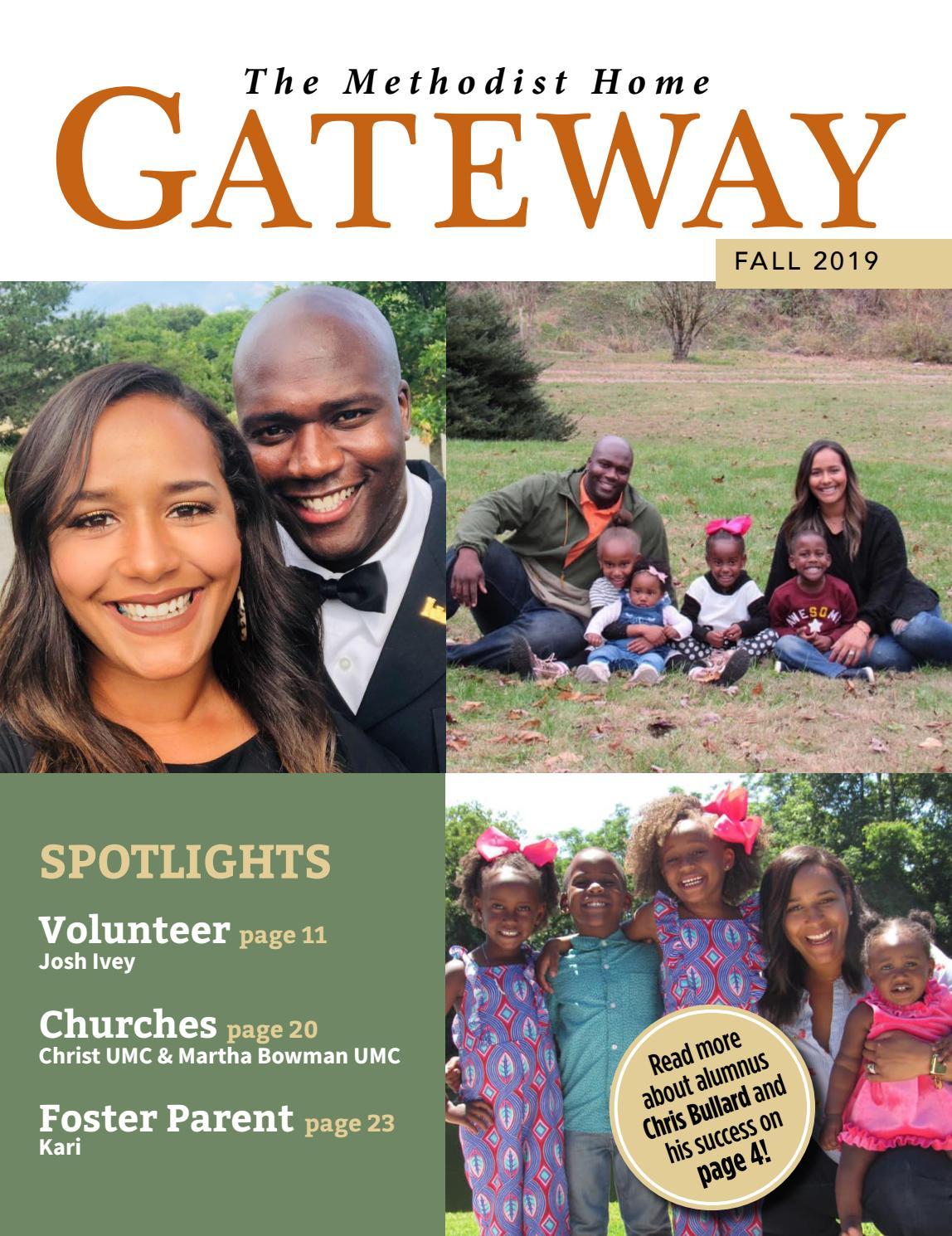 "Steve Bullard ""Ash"" >> The Methodist Home Fall Gateway 2019 By Methodist Children S"