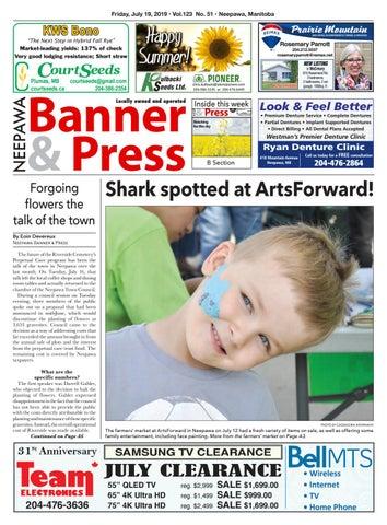 Friday July 19 2019 Neepawa Banner Press By Neepawa