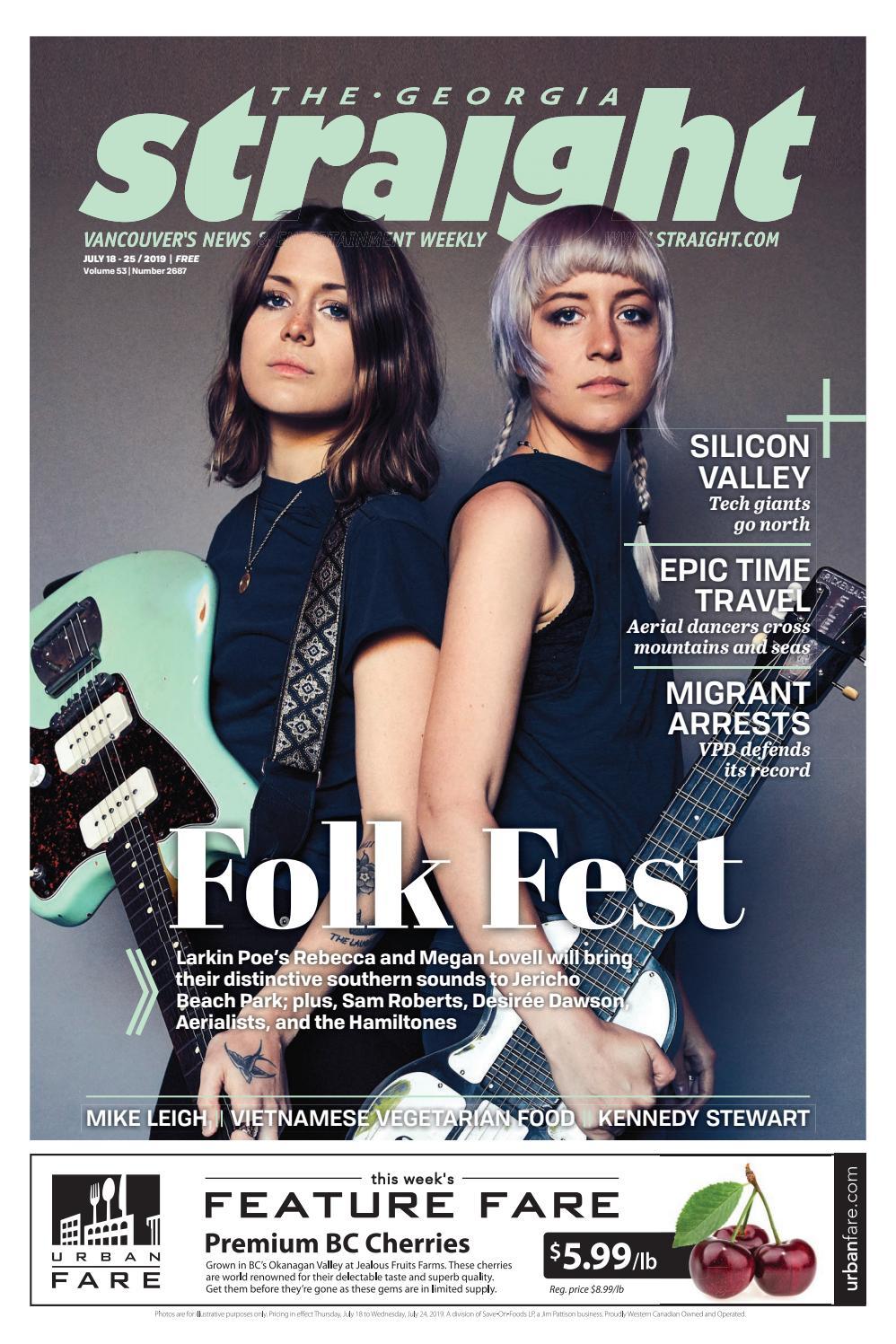 The Georgia Straight - Folk Fest- July 18, 2019 by The Georgia
