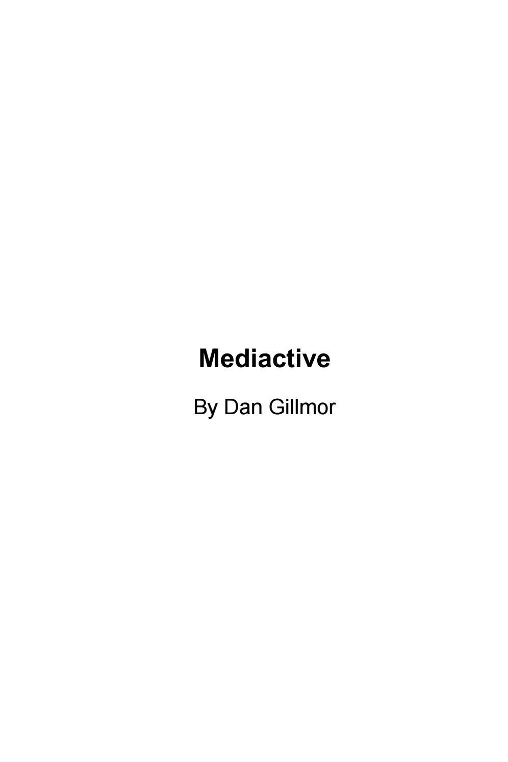 Mediactive by Sala de Prensa - issuu