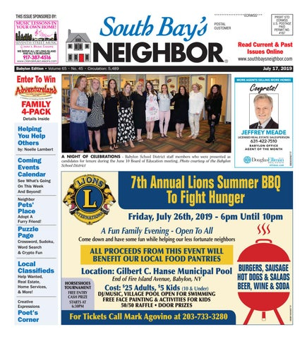 July 17, 2019 Babylon by South Bay's Neighbor Newspapers - issuu