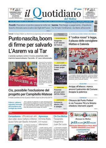 Calendario Raccolte Domenicali Ama.Quotidiano Del 19 07 19 By Redazionecb Issuu