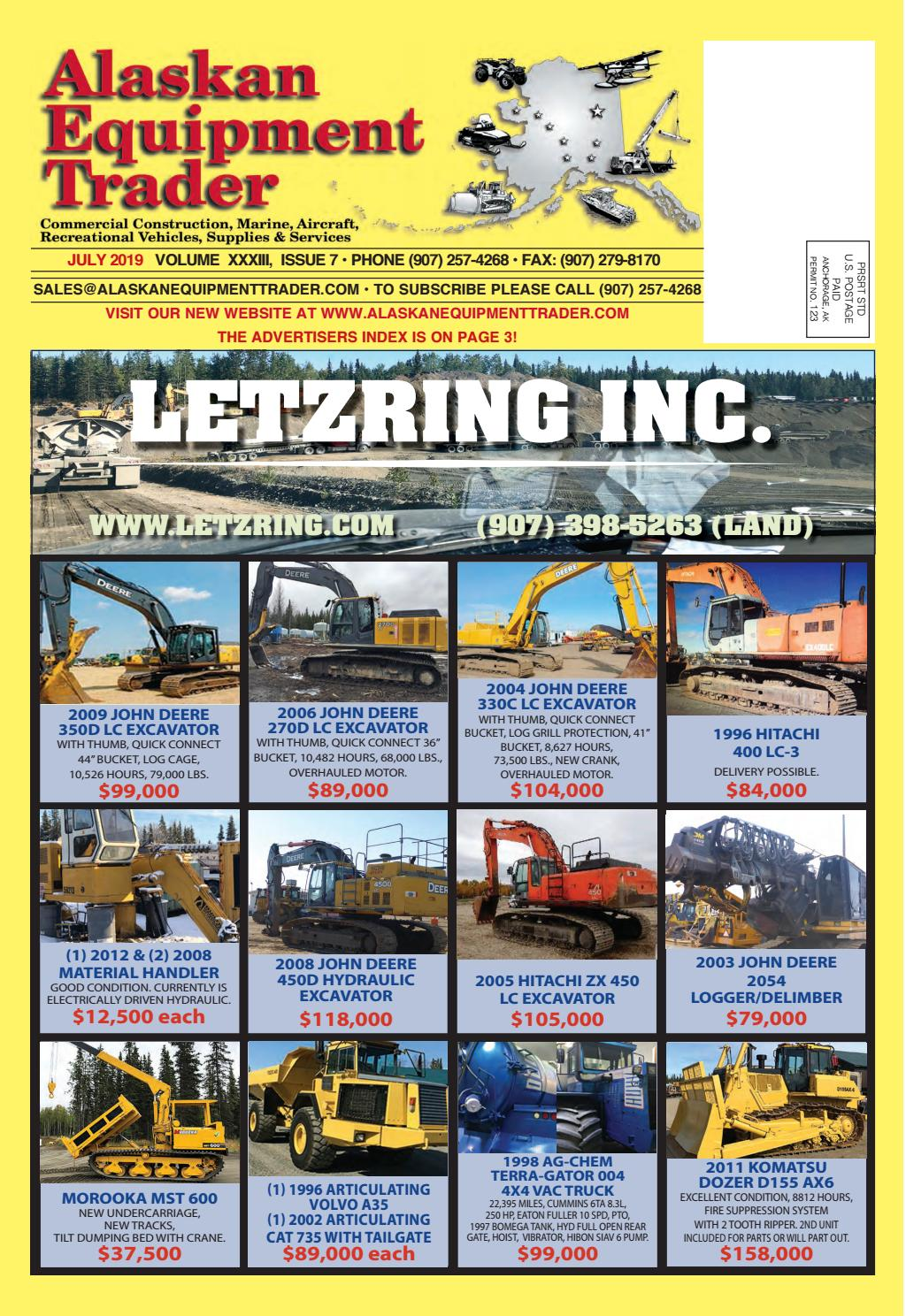 Alaskan Equipment Trader - July 2019 by Anchorage Daily News
