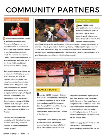 Page 20 of Community Partners & Volunteers