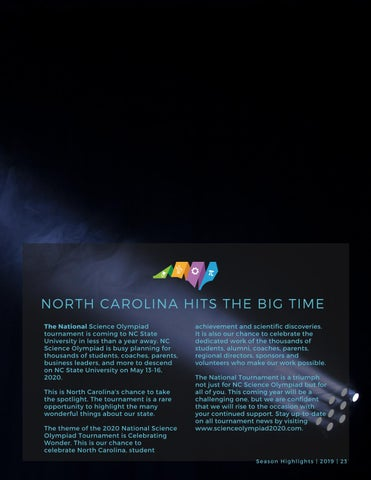 Page 25 of North Carolina Hits the Big Time
