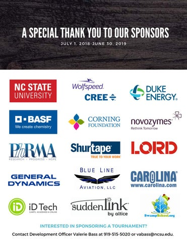 Page 28 of Sponsor & Donor Acknowledgement