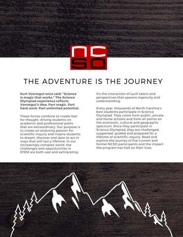 Page 4 of The Adventure is the Journey