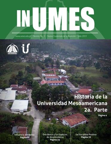 Revista InUmes - No  3 by Universidad Mesoamericana - issuu