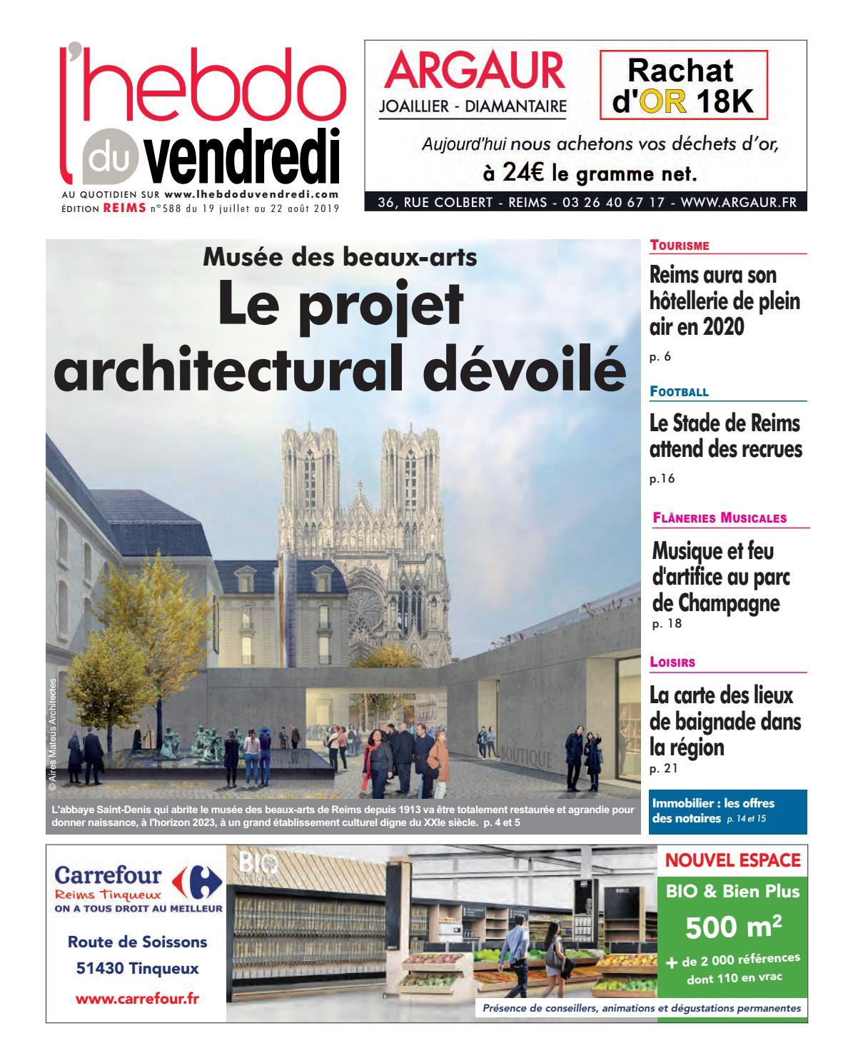 L'Hebdo du Vendredi Reims 588 by Kilkoa issuu