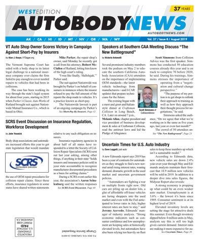 August 2019 Western Edition by Autobody News - issuu