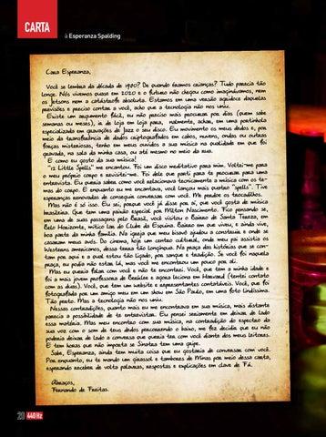 Page 20 of Carta a Esperanza Spalding