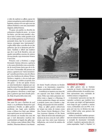Page 29 of OFFSET GUITAR - Mais que um estilo, a busca por um estilo único