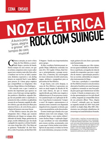Page 8 of Noz Elétrica - Rock com Suingue