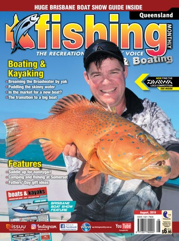 Queensland Fishing Monthly August 2019 by Fishing Monthly