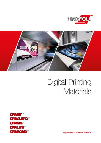 ORAFOL Digital Printing Materials - EN by FINISH