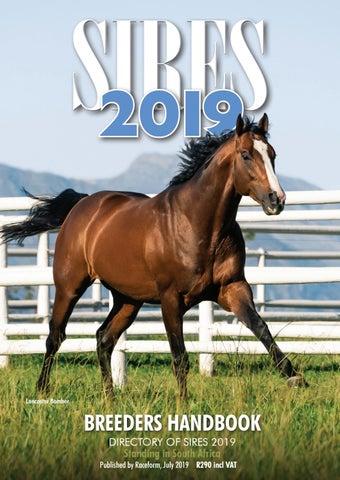 b9baa494e65 2019 Sires Handbook by Sporting Post - issuu