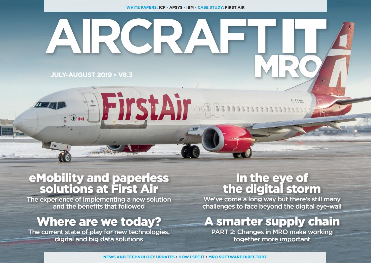 Aircraft IT MRO V8 3, July-August 2019 by aircraftit - issuu
