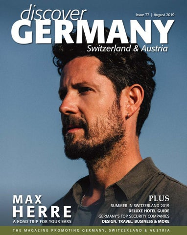 Discover Germany Issue 77 August 2019 By Scan Group Issuu