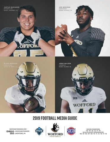 2019 Wofford Football Media Guide by Wofford Athletics - issuu