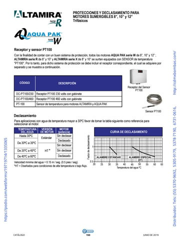 Page 150 of 01-EQUIPOS Y ACCESORIOS SUMERGIBLES Tels: (55) 5370-9692 5305-9179 5378-7190 6731-0616