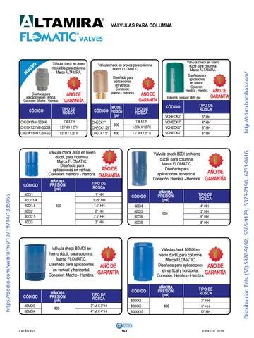 Page 161 of 01-EQUIPOS Y ACCESORIOS SUMERGIBLES Tels: (55) 5370-9692 5305-9179 5378-7190 6731-0616