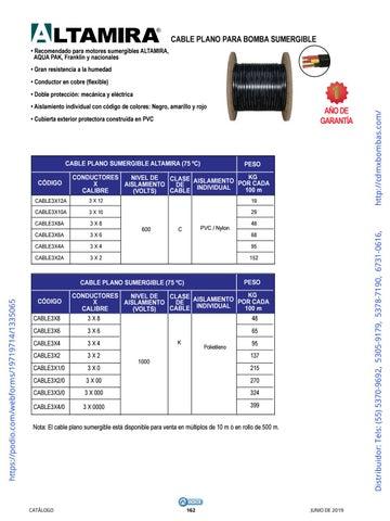 Page 162 of 01-EQUIPOS Y ACCESORIOS SUMERGIBLES Tels: (55) 5370-9692 5305-9179 5378-7190 6731-0616