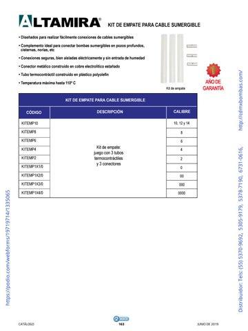 Page 163 of 01-EQUIPOS Y ACCESORIOS SUMERGIBLES Tels: (55) 5370-9692 5305-9179 5378-7190 6731-0616