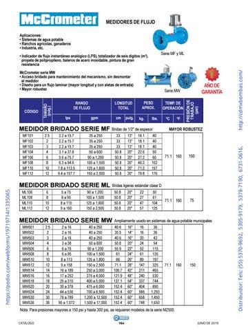 Page 164 of 01-EQUIPOS Y ACCESORIOS SUMERGIBLES Tels: (55) 5370-9692 5305-9179 5378-7190 6731-0616