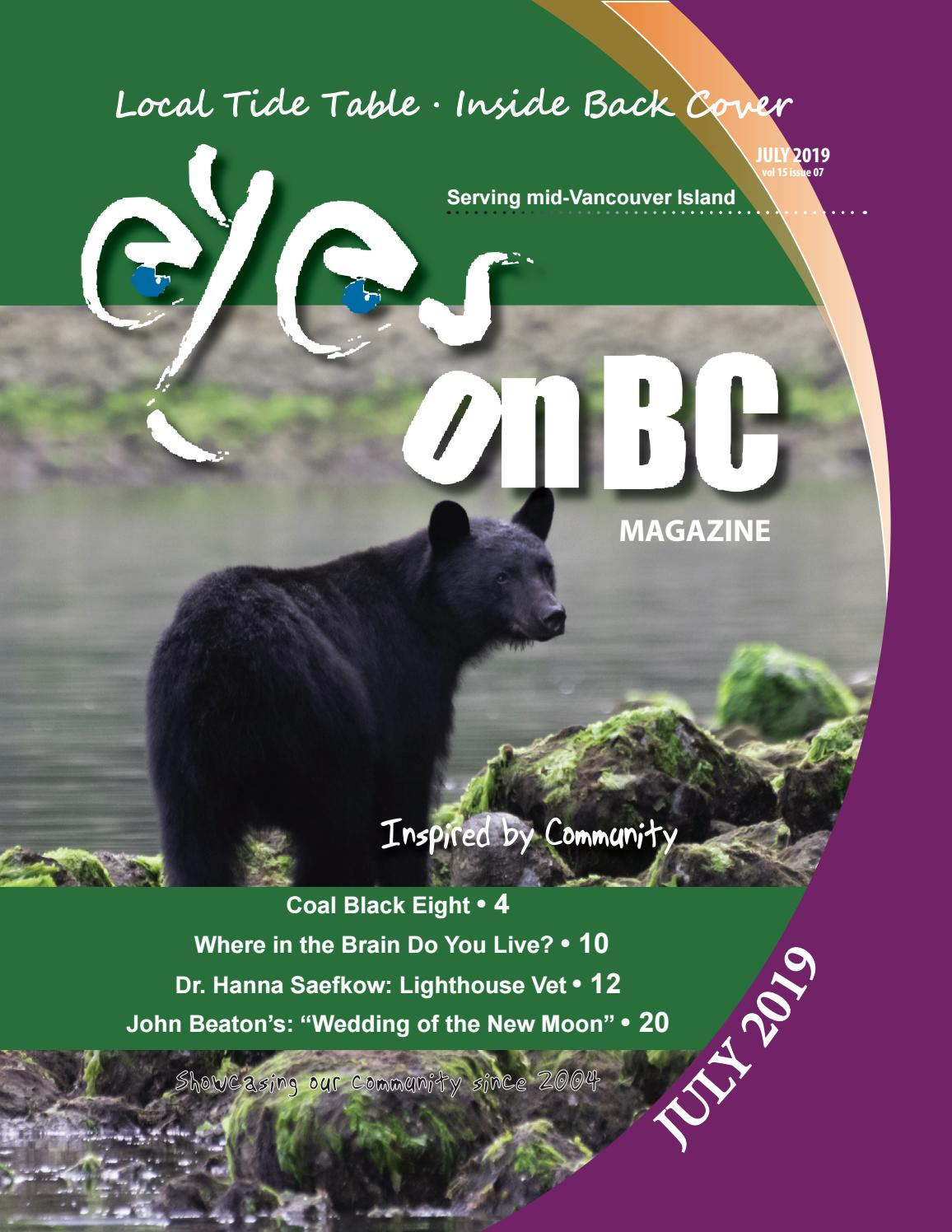 Eyesonbc Magazine July 2019 By