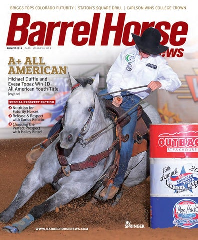 6af47aa92afb Barrel Horse News August 2019 by Cowboy Publishing Group - issuu
