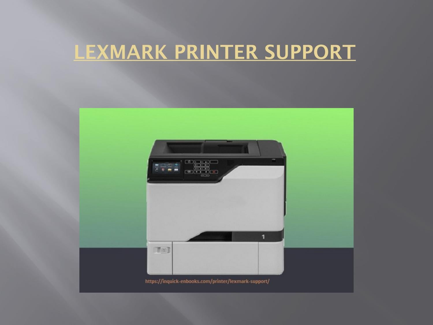 Lexmark Printer Support | Customer Service Toll-free Number