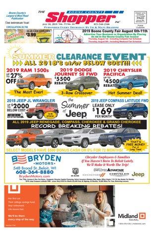 Boone County Shopper July 18, 2019 by Boone County Shopper