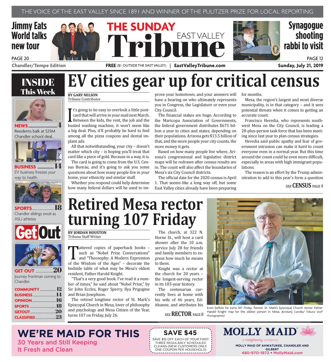 East Valley Tribune Chandler 07-21-2019 by Times Media Group - issuu
