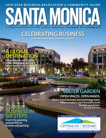 Santa Monica The Guide 2019-2019 by Chamber Marketing