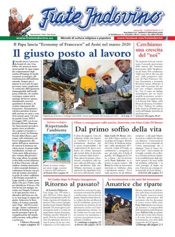 Calendario Di Frate Indovino 2020.Luglio By Edizioni Frate Indovino Issuu