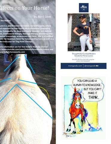 Page 9 of Improper Saddle Fit Can Have  Far-Reaching Effects on Your Horse!