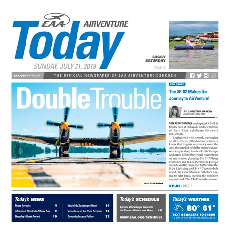 EAA AirVenture Today - Sunday, July 21, 2019 by EAA: Experimental